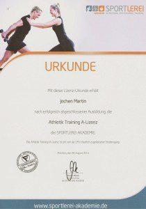 Athletik-Trainer